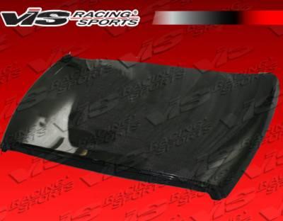 VIS Racing - Dodge Ram VIS Racing OEM Black Carbon Fiber Hood - 94DGRAM2DOE-010C