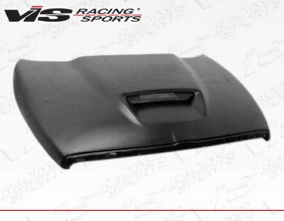 VIS Racing - Dodge Ram VIS Racing SRT Style Fiberglass Hood - 94DGRAM2DSRT-010