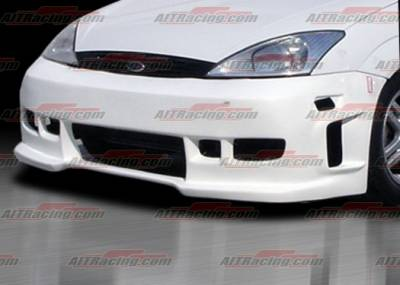 AIT Racing - Ford Focus AIT Racing Revolution Style Front Bumper - FF00HIREVFB3