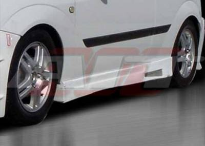 AIT Racing - Ford Focus ZX3 AIT REV Style Side Skirts - FF00HIREVSS3