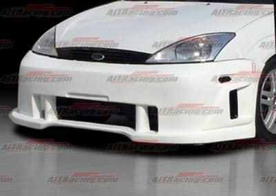 AIT Racing - Ford Focus AIT Racing SIN Style Front Bumper - FF00HISINFB