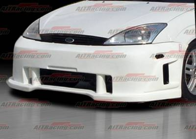 AIT Racing - Ford Focus AIT Racing SIN Style Front Bumper - FF00HISINFB3