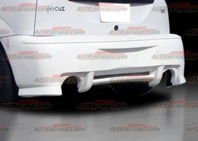 AIT Racing - Ford Focus AIT Racing SIN Style Rear Bumper - FF00HISINRB