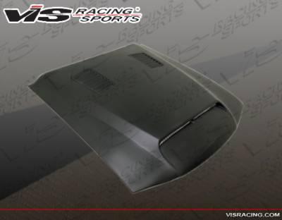 VIS Racing - Ford Mustang VIS Racing GT 500 Fiberglass Hood - 94FDMUS2DGT5-010
