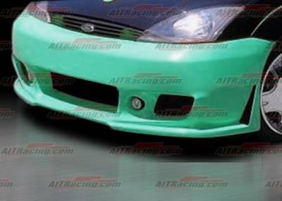 AIT Racing - Ford Focus AIT Racing Zen Style Front Bumper - FF00HIZENFB3