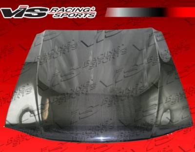 VIS Racing - Ford Mustang VIS Racing OEM Black Carbon Fiber Hood - 94FDMUS2DOE-010C