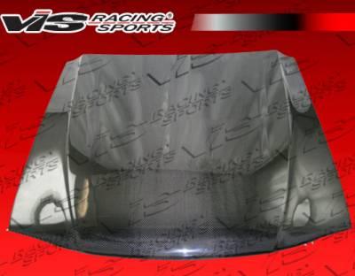 VIS Racing - Ford Mustang VIS Racing OEM Black Carbon Fiber Hood - 94FDMUS2DOE-010C