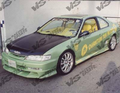 VIS Racing - Honda Accord VIS Racing OEM Black Carbon Fiber Hood - 94HDACC2DOE-010C