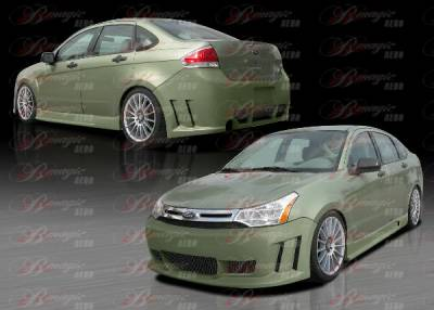 AIT Racing - Ford Focus AIT Racing Max Style Body Kit - FF08BMMAXCK