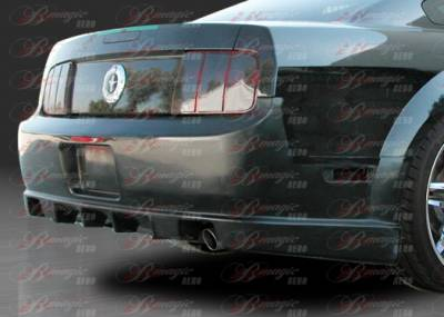 AIT Racing - Ford Mustang AIT Racing Stallion II Style B-Magic Rear Bumper - FM05BMSTL2RB