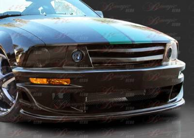 AIT Racing - Ford Mustang AIT Racing Stallion III Style B-Magic Front Bumper - FM05BMSTL3FB