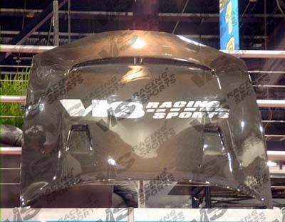 VIS Racing - Mitsubishi Eclipse VIS Racing JS Black Carbon Fiber Hood - 95MTECL2DJS-010C