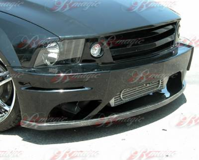 AIT Racing - Ford Mustang AIT Racing Stallion Style B-Magic Front Bumper with Carbon Lip - FM05BMSTLFBC