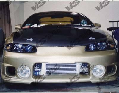 VIS Racing - Mitsubishi Eclipse VIS Racing OEM Black Carbon Fiber Hood - 95MTECL2DOE-010C