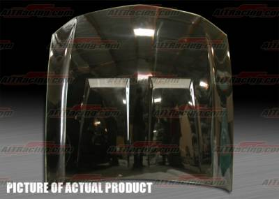AIT Racing - Ford Mustang AIT Racing Type-6 Style Hood - FM05BMT6FH