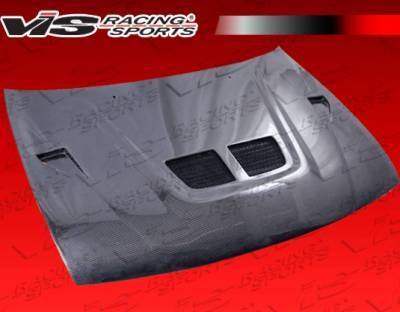 VIS Racing - Nissan 200SX VIS Racing EVO Black Carbon Fiber Hood - 95NS2002DEV-010C