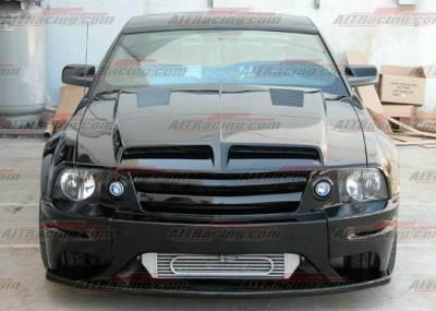 AIT Racing - Ford Mustang BMagic Type-E FRP Hood - FM05BMTEFH