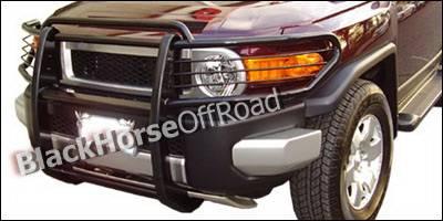 Black Horse - Toyota FJ Cruiser Black Horse Push Bar Guard