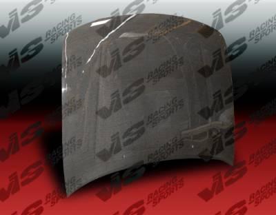 VIS Racing - Nissan Maxima VIS Racing OEM Black Carbon Fiber Hood - 95NSMAX4DOE-010C