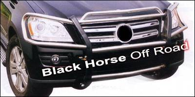 Black Horse - Mercedes-Benz GL Class Black Horse Push Bar Guard