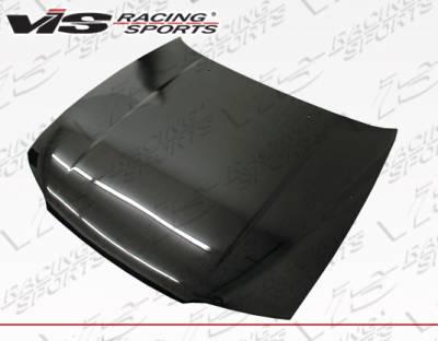 VIS Racing - Nissan Skyline VIS Racing OEM Carbon Fiber Hood - 95NSR332DGROE-010C