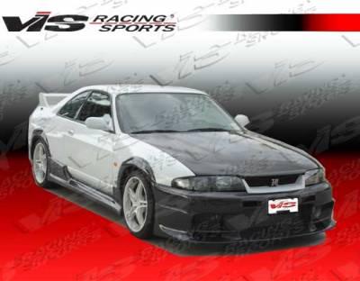 VIS Racing - Nissan Skyline VIS Racing OEM Carbon Fiber Hood - 95NSR332DGSOE-010C