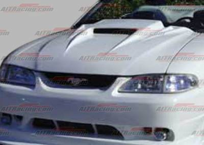 AIT Racing - Ford Mustang AIT Racing Type-5 Style Hood - FM94BMT5FH