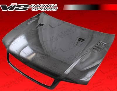VIS Racing - Audi A4 VIS Racing DTM Carbon Fiber Hood - 96AUA44DDTM-010C