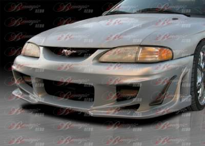 AIT Racing - Ford Mustang AIT Racing Vascious Style B-Magic Front Bumper - FM94BMVASFB