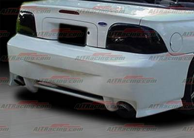 AIT Racing - Ford Mustang AIT Racing SIN Style Rear Bumper - FM94HISINRB