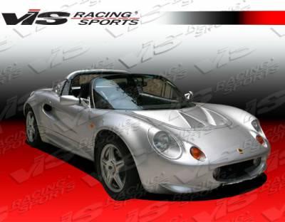 VIS Racing - Lotus Elise VIS Racing Carbon Fiber Light Weight Hood - 96LTELS2DOE-010C