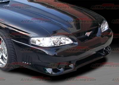 AIT Racing - Ford Mustang AIT Racing SLN-II Style Front Bumper - FM94HISLN2FB
