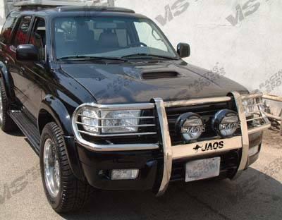 VIS Racing - Toyota 4Runner VIS Racing OEM Black Carbon Fiber Hood with Scoop - 96TY4RN4DOE-010C