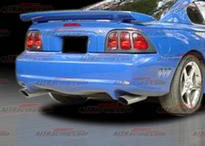 AIT Racing - Ford Mustang AIT Racing SLN Style Rear Bumper - FM94HISLNRB