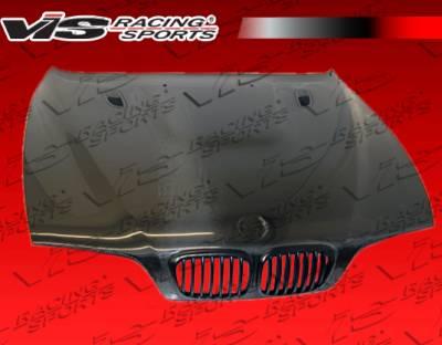 VIS Racing - BMW 5 Series VIS Racing M3 Black Carbon Fiber Hood - 97BME394DM3-010C