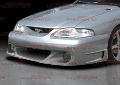 AIT Racing - Ford Mustang AIT Racing Stallion Style Front Bumper - FM94HISTAFB