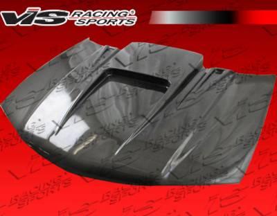 VIS Racing - Chevrolet Malibu VIS Racing ZD Black Carbon Fiber Hood - 97CHMAL4DZD-010C