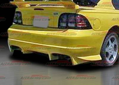 AIT Racing - Ford Mustang AIT Racing VS Style Rear Bumper - FM94HIVSSRB