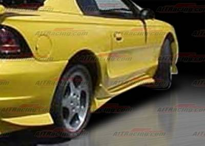 AIT Racing - Ford Mustang AIT Racing VS Style Side Skirts - FM94HIVSSSS