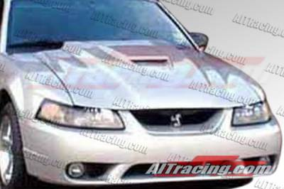 AIT Racing - Ford Mustang AIT Racing Type-2 Style Hood - FM99BMT2FH