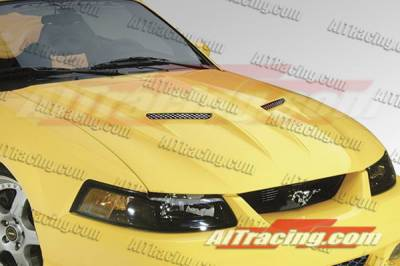 AIT Racing - Ford Mustang AIT Racing Type-3 Style Hood - FM99BMT3FH