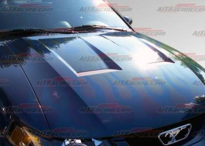 AIT Racing - Ford Mustang AIT Racing Type-6 Style Hood - FM99BMT6FH