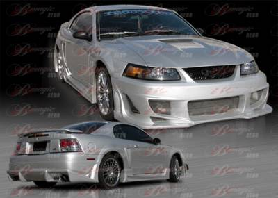 AIT Racing - Ford Mustang AIT Racing Vascious Style B-Magic Complete Body Kit - FM99BMVASFB