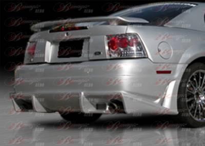 AIT Racing - Ford Mustang AIT Racing Vascious Style B-Magic Rear Bumper - FM99BMVASRB
