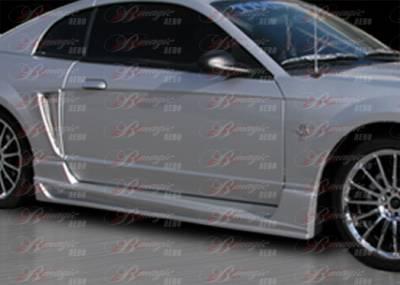 AIT Racing - Ford Mustang AIT Racing Vascious Style B-Magic Side Skirts - FM99BMVASSS