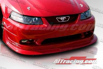 AIT Racing - Ford Mustang AIT Racing Cobra-R Style Urethane Front Bumper - FM99HICBRFBU