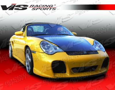 VIS Racing - Porsche Boxster VIS Racing OEM Black Carbon Fiber Hood - 97PSBOX2DOE-010C