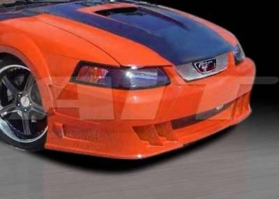 AIT Racing - Ford Mustang AIT DEM Style Front Bumper - FM99HIDEMFB