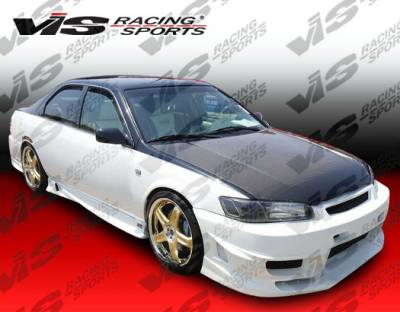 VIS Racing - Toyota Camry VIS Racing OEM Black Carbon Fiber Hood - 97TYCAM4DOE-010C