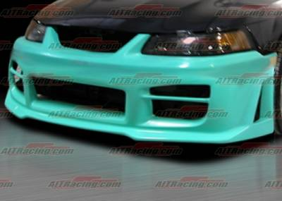 AIT Racing - Ford Mustang AIT R34 Style Front Bumper - FM99HIR34FB